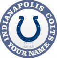 Indianapolis Colts decal sticker
