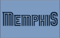 Memphis Grizzlies 2009-2018 Jersey Logo decal sticker