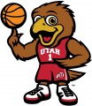 Utah Utes 2015-Pres Mascot Logo 04 decal sticker