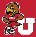 Utah Utes 2015-Pres Mascot Logo 03 decal sticker