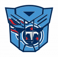 Autobots Tennessee Titans logo iron on transfers