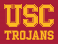 Southern California Trojans 2000-2015 Wordmark Logo 02 iron on transfer