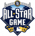 MLB All-Star Game 2016 decal sticker