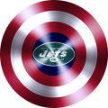captain american shield with new york jets logo iron on transfer