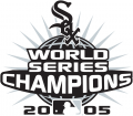 Chicago White Sox 2005 Champion Logo iron on transfer