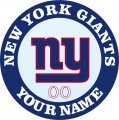 New York Giants decal sticker