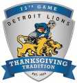 Detroit Lions 2014 Special Event Logo decal sticker