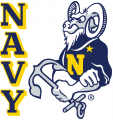 Navy Midshipmen 1972-1997 Secondary Logo 01 iron on transfer