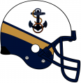 Navy Midshipmen 2012-Pres Helmet iron on transfer