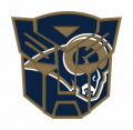 Autobots Los Angeles Rams logo iron on transfers
