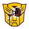 Autobots Washington Redskins logo