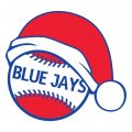 Toronto Blue Jays Baseball Christmas hat decal sticker