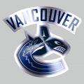 Vancouver Canucks Stainless steel logo iron on transfer