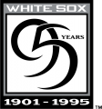 Chicago White Sox 1995 Anniversary Logo 01 iron on transfer