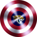captain american shield with jacksonville jaguars logo iron on transfer