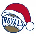 Kansas City Royals Baseball Christmas hat decal sticker