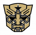 Autobots New Orleans Saints logo iron on transfers