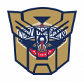 Autobots New Orleans Pelicans logo iron on transfers