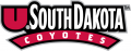South Dakota Coyotes 2004-2011 Wordmark Logo iron on transfer