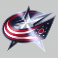 Columbus Blue Jackets Stainless steel logo iron on transfer