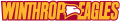 Winthrop Eagles 1995-Pres Wordmark Logo 06 decal sticker