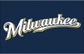 Milwaukee Brewers 2016-2019 Jersey Logo iron on transfer