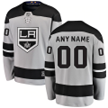 Los Angeles Kings Custom Letter and Number Kits for Gray Jersey