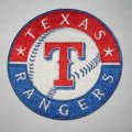 Texas Rangers Logo Embroidered Iron On Patches