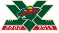 Minnesota Wild 2015 16 Anniversary Logo iron on transfer